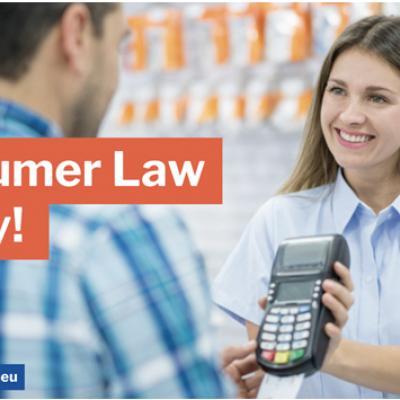 """Δωρεάν διαδικτυακό σεμινάριο σε μικρομεσαίες επιχειρήσεις για το """"Δίκαιο Προστασίας του Καταναλωτή"""""""