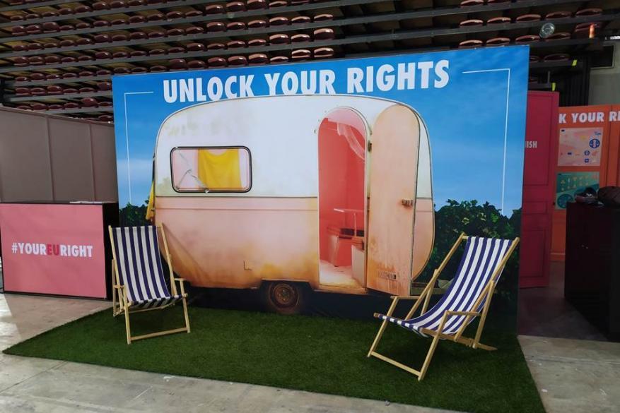 #yourEUright – Η καμπάνια ενημέρωσης της ΕΕ για τα δικαιώματα των καταναλωτών στα συνέδρια AthensCon και Infocom World
