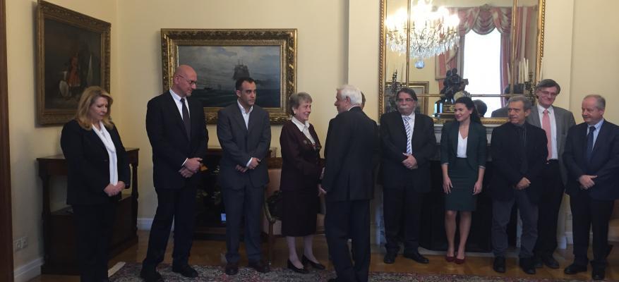 Συνάντηση με τον Πρόεδρο της Δημοκρατίας